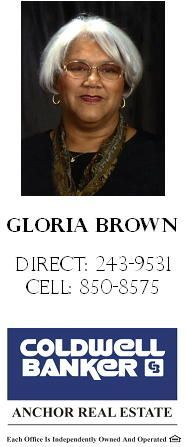 Gloria Brown (Smith)