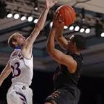Kansas hangs on, but coach sees regression