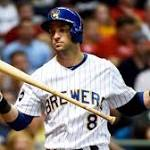 Brewers' Braun says he's making progress after back surgery