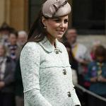 Why Kate's baby bump is so tiny