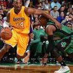 Celtics Rout Lakers, 113-96, At The Garden