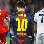 Ballon d'Or live: Cristiano Ronaldo, Lionel Messi and Franck Ribery compete for ...