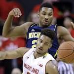 Top 25 roundup: Maryland tops Michigan