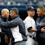 Jeter shows lighter side after final home opener as a Yankee