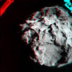 NASA releases 3D image from Rosetta spacecraft of Philae's landing on Comet