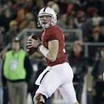 No. 13 Stanford rallies past No. 4 Notre Dame 38-36