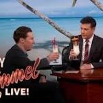Benedict Cumberbatch Honeymoons At 'Jimmy Kimmel Live' (Video)