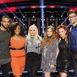'The Voice': Season 10 Live Playoffs Kick Off with Team Christina and Team Blake
