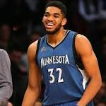 Karl-Anthony Towns is your (unanimously-voted) Rookie of the Year