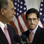Race to replace Eric Cantor a two-man contest as leading conservative declines ...