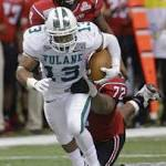 Tulane senior running back Orleans Darkwa runs into history in New Orleans Bowl