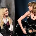 Watch Madonna, Taylor Swift Perform 'Ghosttown' at iHeartRadio Awards