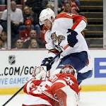 Trocheck, Pirri lift Panthers past Red Wings in SO