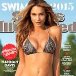 Hannah Davis graces Sports Illustrated swimsuit cover