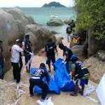 Thai police rule out British suspect in backpackers' murder probe