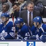 NHL: Maple Leafs lose as Peter Horachek debuts as interim coach