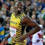 Bolt leads Jamaica to relay gold 10:39