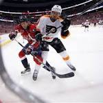 Capitals fail to make statement, generate offense in loss to Flyers