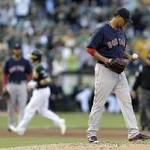 Red Sox aim to straighten out road trip in Oakland