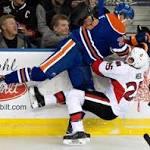 Hoffman scores in OT, Senators beat Oilers 4-3