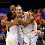 UConn's trio of seniors goes out with class