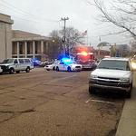 Miss. cop, suspect shot, killed inside police HQ