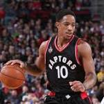 Raptors Beat Blazers for 12th Straight Home Win, 117-115