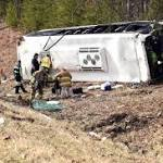 4 remain hospitalized after Indiana bowling team bus crash
