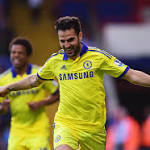 Crystal Palace 1-2 Chelsea: Fabregas off the mark as Mourinho's juggernaut ...