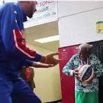 Watch this sweet video of Virginia McLaurin, who famously danced with Obamas, now dance with Harlem Globetrotters