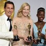 '12 Years a Slave' rises up at Academy Awards