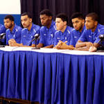 Record 7 Kentucky players off to NBA draft