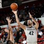 Djurisic leads Georgia past South Carolina, 97-76