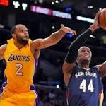NBA roundup: Davis, Pelicans thump Lakers