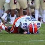 Spine condition ends career of Florida Gators lineman