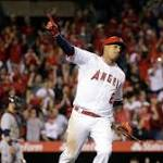 Yunel Escobar ends Angels' losing streak with walk-off victory over the Indians, 4-3