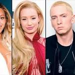 Beyonce, Eminem, Azalea lead MTV Video Music Awards nods