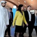 US couple held in Qatar board plane for LA