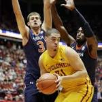 No. 17 Iowa State pounds Auburn 99-70