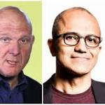 Microsoft hoping Nadella and Gates can transform company's software focus