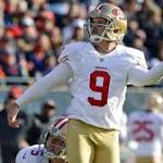 49ers re-sign kicker Phil Dawson to 1-year deal