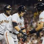 Nationals win streak ends with a thud in 10-3 loss to the Giants