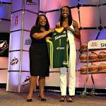 Seattle Storm select Notre Dame's Jewell Loyd first in WNBA draft
