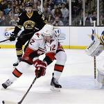 Marchand's two goals power Bruins in rout