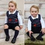 Prince George given classic look in his official Christmas 2014 photographs