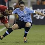 Luis Suarez and Uruguay take on Jordan in World Cup 2014 play-off: live