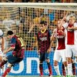 Messi hat trick lifts Barcelona over Ajax