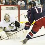 Crosby-less Pens renew hostilities with Columbus