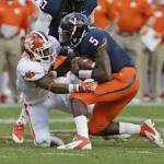Clemson Cruises Past Virginia, 59-10