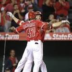 Angels Beat Mets 5-4 on Hit Batter in 11th Inning